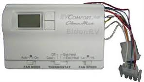 thermostat digital 9 wire 6536a3351 for coleman 2 stage heat pumps