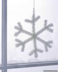 crystal snowflake martha stewart