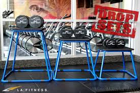 through weight plateaus with drop sets