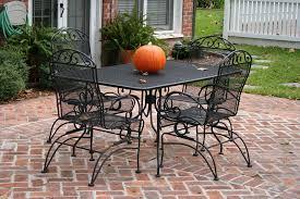 Aluminium Patio Furniture Sets Popular Of Metal Outdoor Dining Sets Iron Patio Table Decor Home