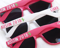 personalized sunglasses wedding favors personalized sunglasses and gifts by pacificcharmdesigns on etsy