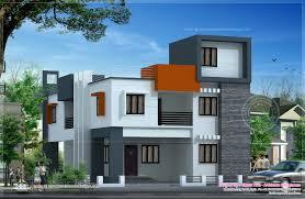 Flat House Design Modern Flat Roof House Square Meter Kerala Home Design Home