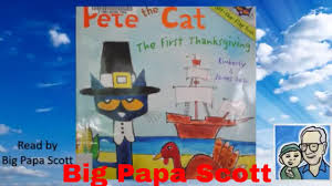 read aloud pete the cat the thanksgiving by and