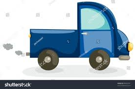 rusty car white background illustration isolated truck car on white stock vector 80063101