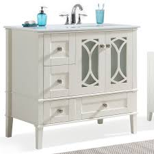 Bathroom Vanity With Offset Sink Simpli Home Paige 36