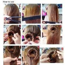 hair bun maker instructiins professional hair braid tool twist styling clip stick bun maker