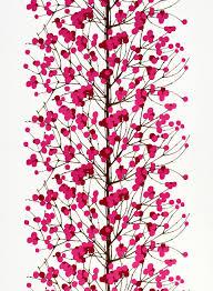 lumimarja cotton white red pink brown marimekko com