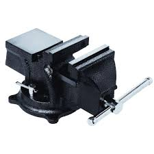Mechanics Bench Vise Bessey 4 In Heavy Duty Bench Vise With Swivel Base Bv Hd40 The