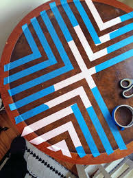 Table Up Best 25 Painted Table Tops Ideas On Pinterest Paint A Kitchen