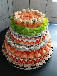 a beautiful sushi cake found u2026 sushi pinterest sushi