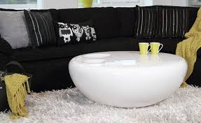 round coffee table white premier comfort heating
