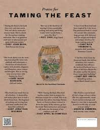 taming the feast ben ford u0027s field guide to adventurous cooking