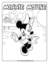 coloring pages mickey minnie mouse coloring pages pictures