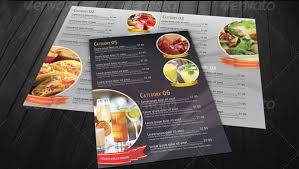 dining menu template food menu template 36 free word pdf psd eps indesign format