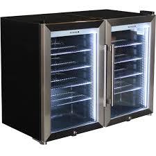 glass door commercial refrigerator schmick tropical triple glazed outdoor 2 glass door alfresco bar