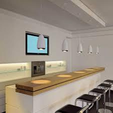 cuisine du bar le suspendue cuisine suspension blanche pour bar comprenant