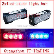 led emergency light bars cheap 2x4 led police strobe lights vehicle strobe light bar car warning