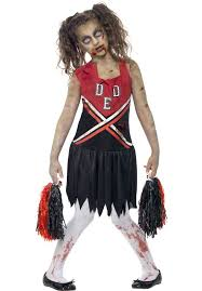 Scary Halloween Costumes Teenage Girls 20 Zombie Cheerleader Ideas Zombie