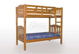 Bunk Bed Adelaide Scf Adelaide Timber Single Bunk Bed Chestnut Sydney Central