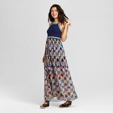 strapless casual maxi dresses target