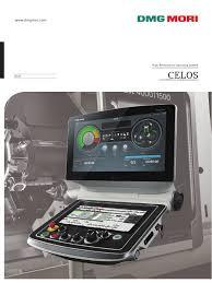 celos control dmg mori seiki operating system computer monitor