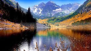 high def desktop backgrounds fall lake hd desktop wallpaper widescreen high definition
