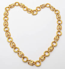 antique necklace chains images Antique gold chain link necklace at 1stdibs jpg