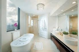 illuminate your bathroom with bright ceiling lights swing arm led