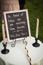 heartfelt ways to remember lost loved ones on your wedding day