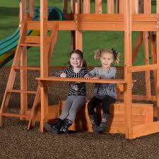 Backyard Discovery Monticello Monticello Wooden Swing Set Playsets Backyard Discovery