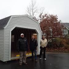 shed style gambrel roof style garage series storage shed better way sheds