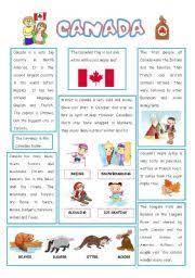 english teaching worksheets canada