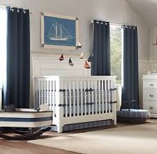 Navy Blue Curtains For Nursery Cotton Tale Cove Crib Mobile Jcpenney Pirate Room