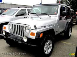 jeep rubicon silver jeep wrangler rubicon 2006 on motoimg com
