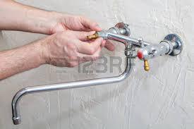 kitchen water faucet repair kitchen faucet repair plumber unscrew retaining stock