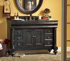 Distressed Bathroom Vanities Little Black Bathroom Vanities Dressing Up Your Bathroom Decor