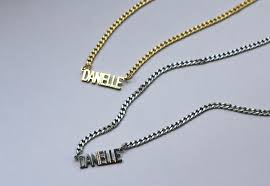 nameplate necklace plated miracle nameplate necklace best necklace