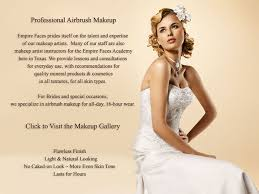 bridal makeup package empire faces professional airbrush makeup artists