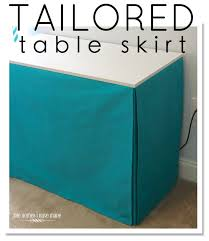 How To Make A Table Skirt by Best 20 Table Skirts Ideas On Pinterest Tulle Table Skirt