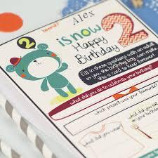 personalised boy u0027s 2nd birthday card by tandem green