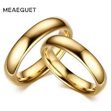 Couple Wedding Rings by Meaeguet Vintage Tungsten Carbide Wedding Rings For Couple Solid