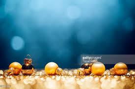 golden time decorations lights bokeh defocused blue gold