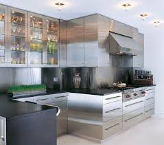 kitchen stainless steel kitchen with trendy contemporary
