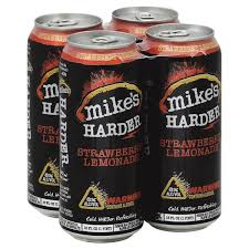 how much alcohol is in mike s hard lemonade light mike s hard harder strawberry lemonade 8 abv from bashas instacart