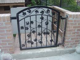 salt lake ornamental iron gates fence handrail railing balconies