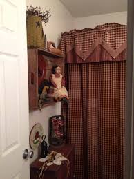 country bathroom shower curtains 100 primitive country bathroom ideas wall ideas primitive