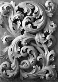 509 best acanthus ornament images on baroque
