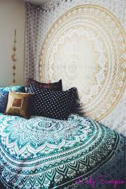 Bedroom Ideas With Tapestry 54 Best Dorm Images On Pinterest Bedroom Ideas College Life And