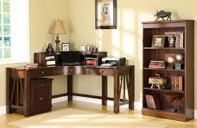 Best Corner Desks Best Corner Desk For Home Office With Wooden Curved Corner