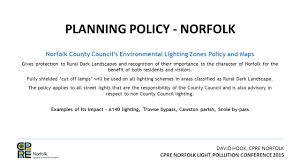 Norfolk County Council Committee System David Hook Cpre Norfolk Cpre Norfolk Light Pollution Conference